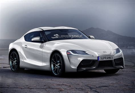 toyota supra 2018 toyota supra renderings seem spot on show f1 car