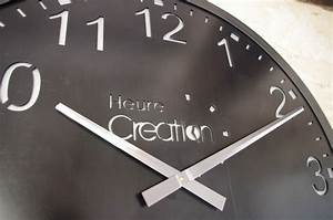 Grande Horloge Industrielle : horloge murale g ante indus style industriel en acier ~ Teatrodelosmanantiales.com Idées de Décoration