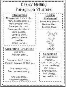 Persuasive Essay Conclusion Starters - Argumentative essay sentence