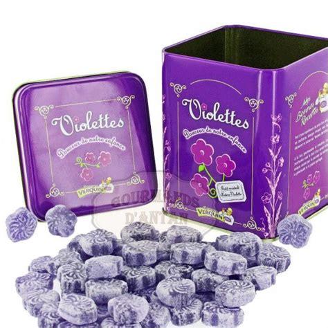 violettes bonbon 224 la violette verquin boite m 233 tal 400g