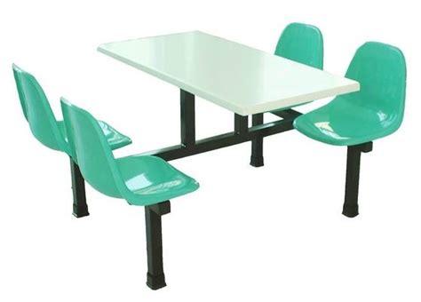 4 seat modular canteen unit dining furniture dining set