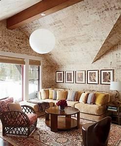 Wandgestaltung Wohnzimmer Erdtöne : 70 ideen f r wandgestaltung beispiele wie sie den raum aufwerten ~ Markanthonyermac.com Haus und Dekorationen