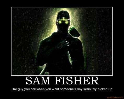 Splinter Cell Meme - quotes by david fisher like success