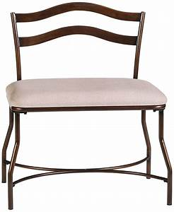 Vanity, Chair, With, Back