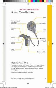 Cochlear Cp1000 Sound Processor In A Cochlear Implant