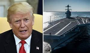New US aircraft carrier nearly complete despite CRITICISM ...