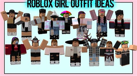 Roblox Outfit Ideas!! Prt. 9 (girls Edition