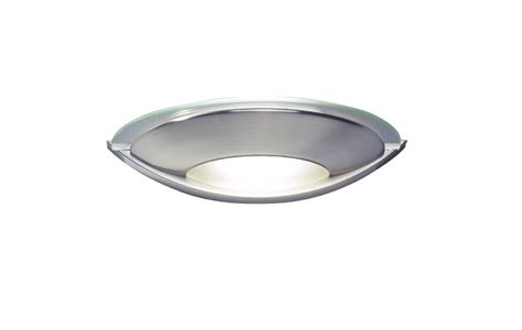 via 1 light satin chrome wall light via0746 023272