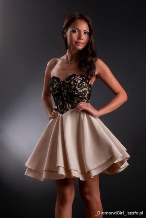 sukienka koronka gorset s m l w suknie i sukienki szafa pl