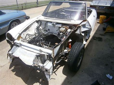 Purchase New 1986 Alfa Romeo Spider Parts Car In Fort