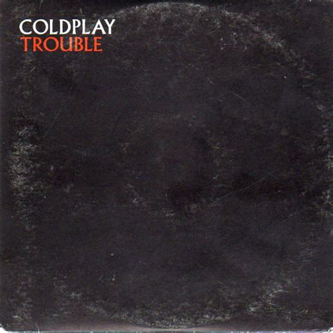 Coldplay Trouble 2000 Cd Discogs