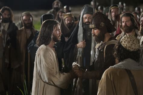 christ arrested  soldiers