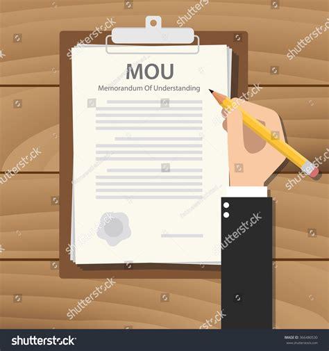 mou memorandum  understanding concept paper document
