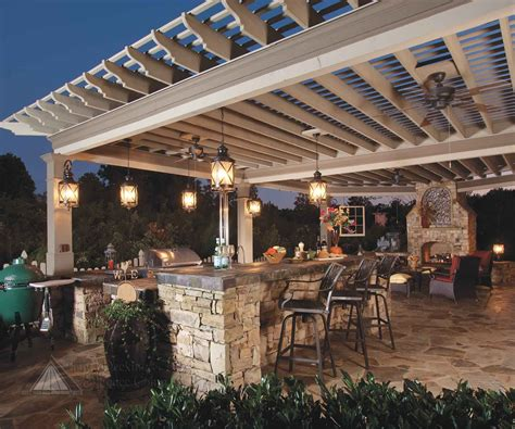 22 outdoor kitchen design ideas pergolas kitchens and