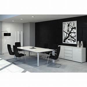 Table Bureau Direction FILL EVO 4 Pieds Mobilier De Bureau
