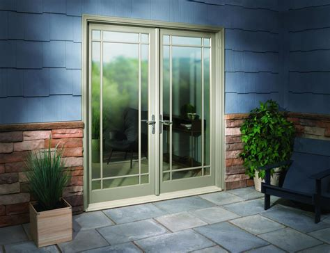 outswinging patio doors mini blinds installation images boyds blinds and drapes