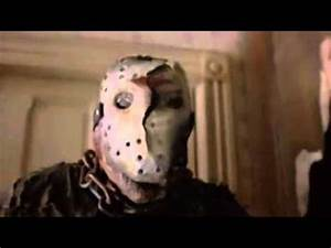 Jason takes of his mask (with a twist!) - YouTube