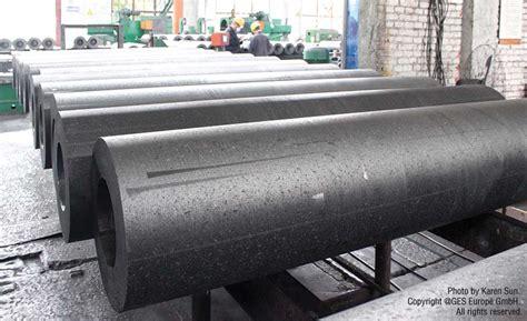 ups  downs   worldwide graphite electrode market    industrial heating