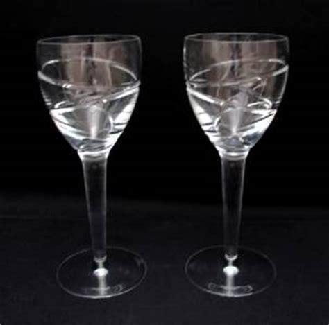 2264 aura wine glasses 2x quality stuart jasper conran aura wine
