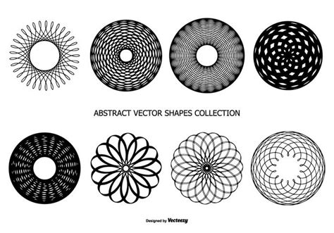 Abstract Shapes Collection by Abstract Vector Shapes Collection Free Vectors
