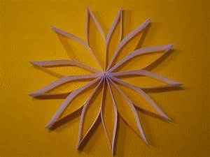 Sterne Aus Papier Falten : streifenstern kreative sterne aus papier basteln ~ Buech-reservation.com Haus und Dekorationen