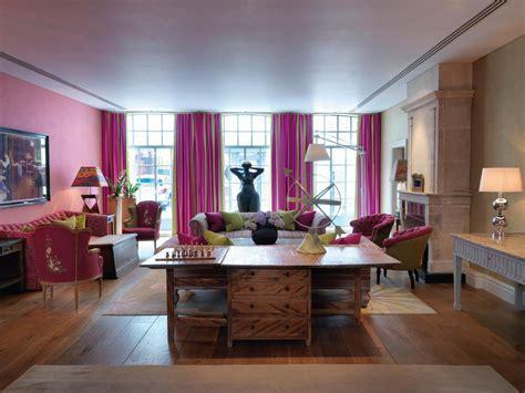 Trendy Soho Hotel London Interiors   iDesignArch