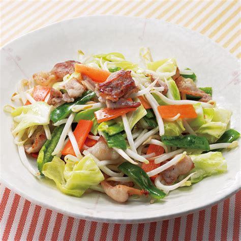 野菜 炒め レシピ