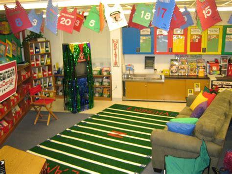 sports themed classrooms clutter  classroom