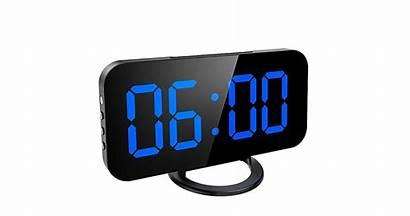Clock Alarm Clocks Screen Bedroom Display Mirror