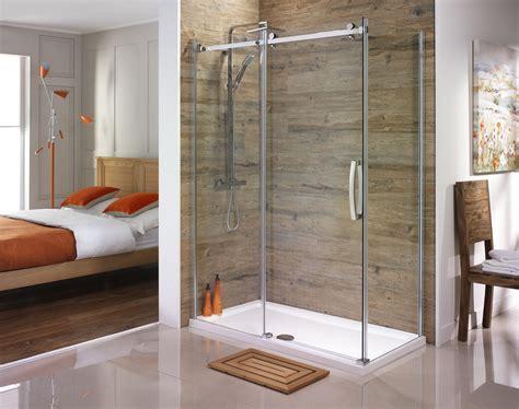 tiled bathrooms ideas orca frameless sliding shower enclosure from serene bathrooms