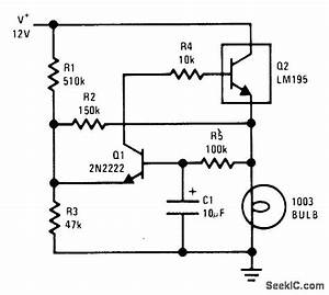 1 A Lamp Flasher - Amplifier Circuit