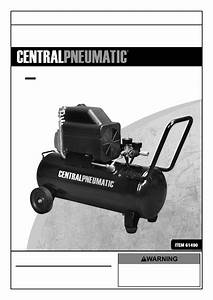 Harbor Freight Tools 10 Gal 2 5 Hp 125 Psi Oil Lube Air