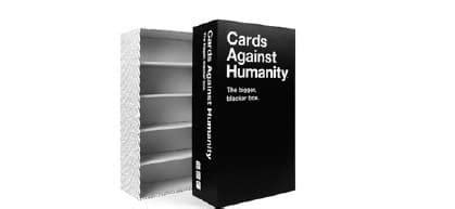 Maybe you would like to learn more about one of these? Cards Against Humanity (Bigger) Bigger Blacker Box : : 817246020019 : Blackwell's
