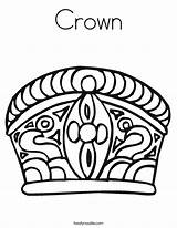 Crown Coloring Queen Pages Mahkota Royal Prince King Noodle Deserves She Printable Princess Worksheet Rapunzel Clipart Triangle Twisty Starts Getcolorings sketch template