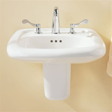 bathroom sink design murro universal design everclean wall mounted sink american standard