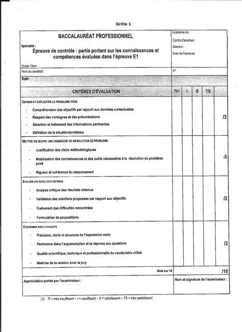 fiche bilan de competences bac pro cuisine 28 images dossier e22 bac pro l excellence dans