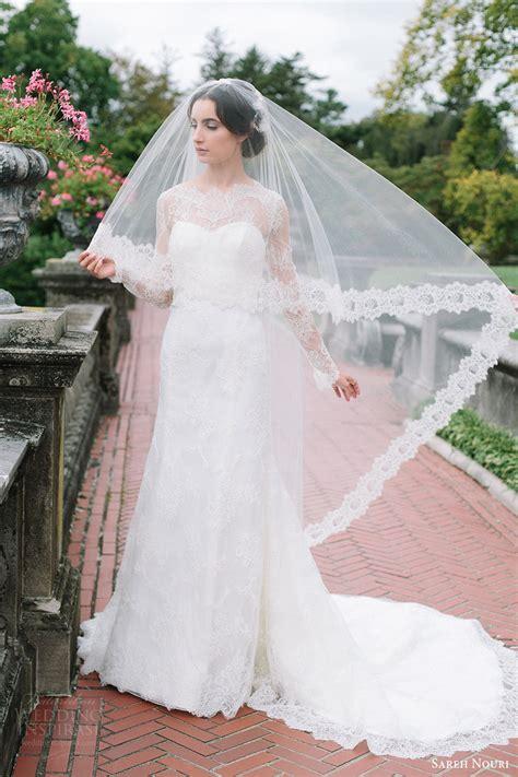 Sareh Nouri Fall 2016 Wedding Dresses — Lookbook Wedding