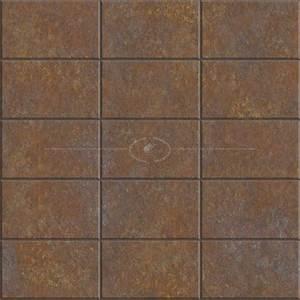 Rusty dirty metal facade cladding texture seamless 10344