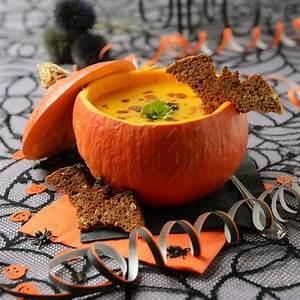 Recette Salée Halloween : soupe potiron recette facile halloween gourmand ~ Voncanada.com Idées de Décoration