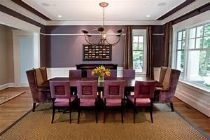 23 Purple Dining Room Designs Decorating Ideas Design