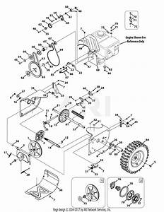 Troy Bilt 31ah64q4711 Storm 2840  2014  Parts Diagram For