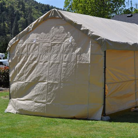 foot wide replacement carport solid  panel tan canopy replacement tarps active writing