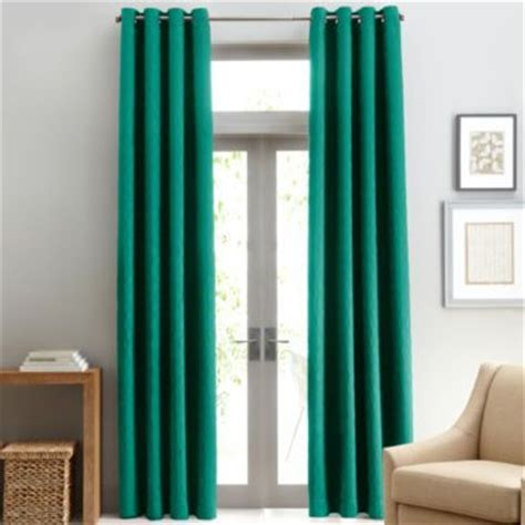 Jc Penney Curtains With Grommets by Studio Grommet Top Lined Textured Blackout Curtain
