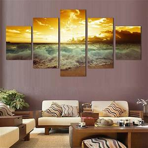Fashionforhome De : fashion wall art sea full sunrise home decoration abstract ~ Pilothousefishingboats.com Haus und Dekorationen