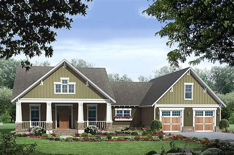 Craftsman Style House Plan 3 Beds 2 Baths 1816 Sq/Ft