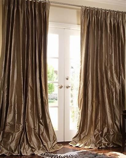 Drapes Curtains Silk Dupioni Luxury Custom Drape