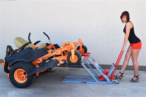 Pro-lift T-5501 Grey Air Actuated Lawn Mower Lift Home