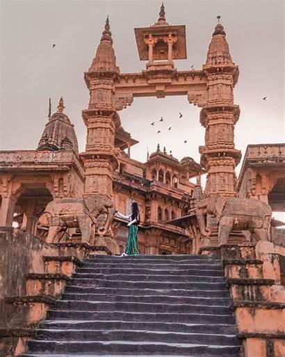 Jaipur India Architecture Travel Spots Places Ancient