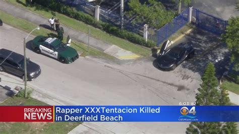 Rapper Xxxtentacion Shot Dead In Broward Reports Say