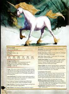 dnd 5e unicorn dragons dungeons dragon homebrew elf monsters pathfinder wood stats paladin creatures dungeon sheet rpg character master magical